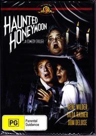 Haunted Honeymoon on DVD image