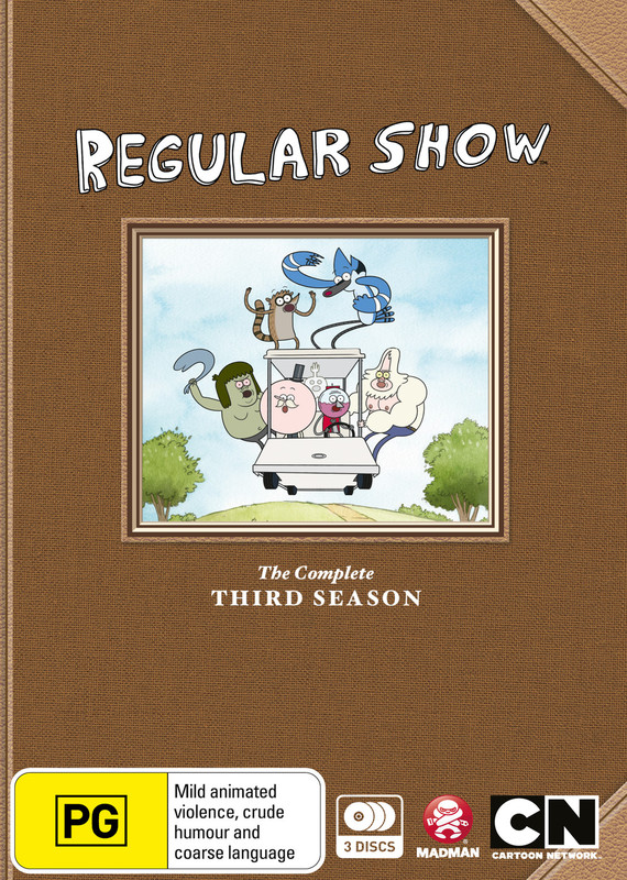 Regular Show - The Complete Third Season on DVD