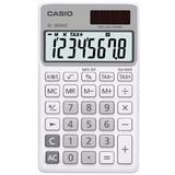 Casio Handheld Calculator - White