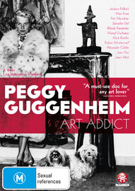 Peggy Guggenheim: Art Addict on DVD