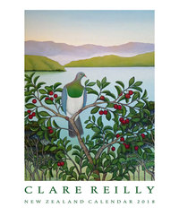 Clare Reilly Bird 2018 Wall Calendar