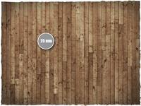 DeepCut Studio Wooden Floor PVC Mat (3x3) image