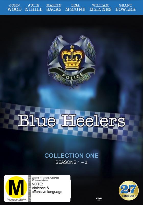 Blue Heelers - Collection 1 (Season 1- 3) on DVD
