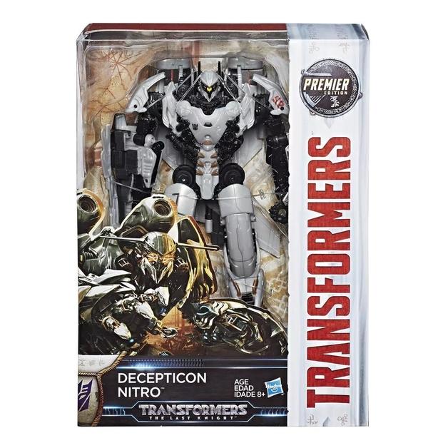 Transformers: The Last Knight: Premiere Edition Voyager (Decepticon Nitro)