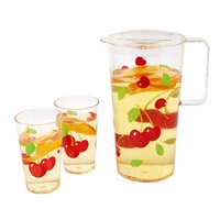 Sunnylife Party Drinkware Set - Cherry
