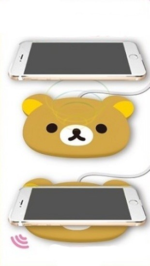 Wireless Smartphone Charger: Rirakkuma image