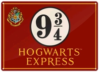 Harry Potter - Hogwarts Express Small Tin Sign