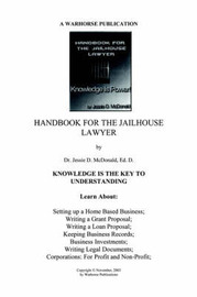 Handbook for Jailhouse Lawyers by Ed. D. Dr. Jessie Daniel McDonald