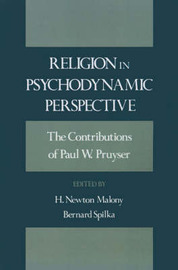Religion in Psychodynamic Perspective by Paul W Pruyser image