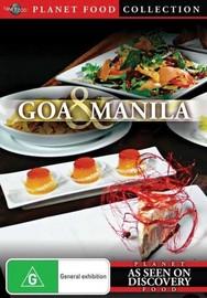 Planet Food: Goa and Manila on DVD