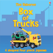 The Usborne Box of Trucks Jigsaw image