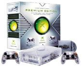 Limited Edition Xbox Crystal Console for Xbox