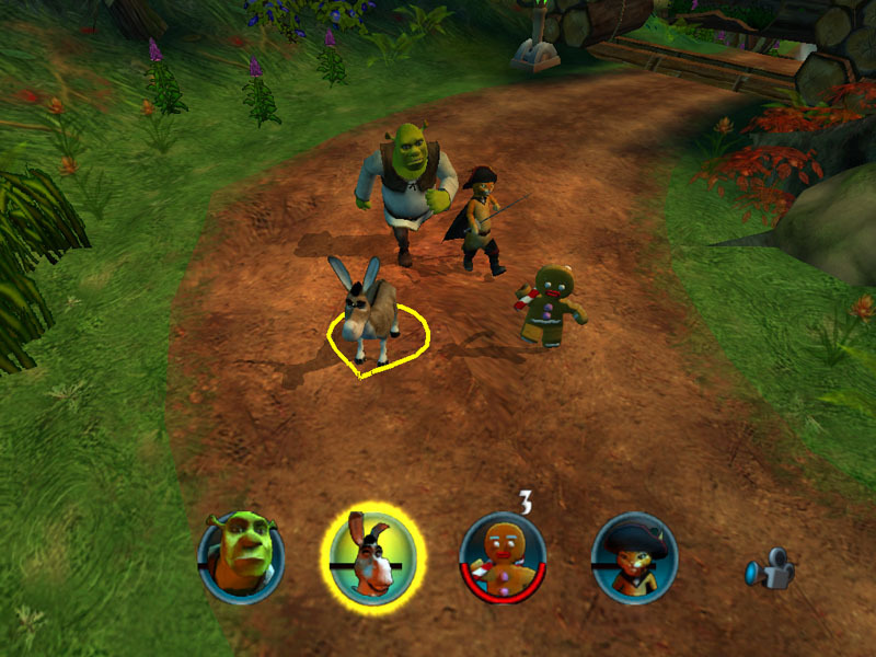 Shrek 2: Team Action for PC Games image