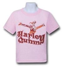 Harley Quinn Pink Kids T-Shirt (Size 4)