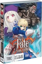 Fate/Stay Night - Vol. 2: War Of The Magi on DVD