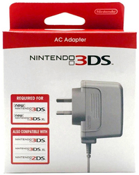 New Nintendo 3DS AC Adapter for Nintendo 3DS