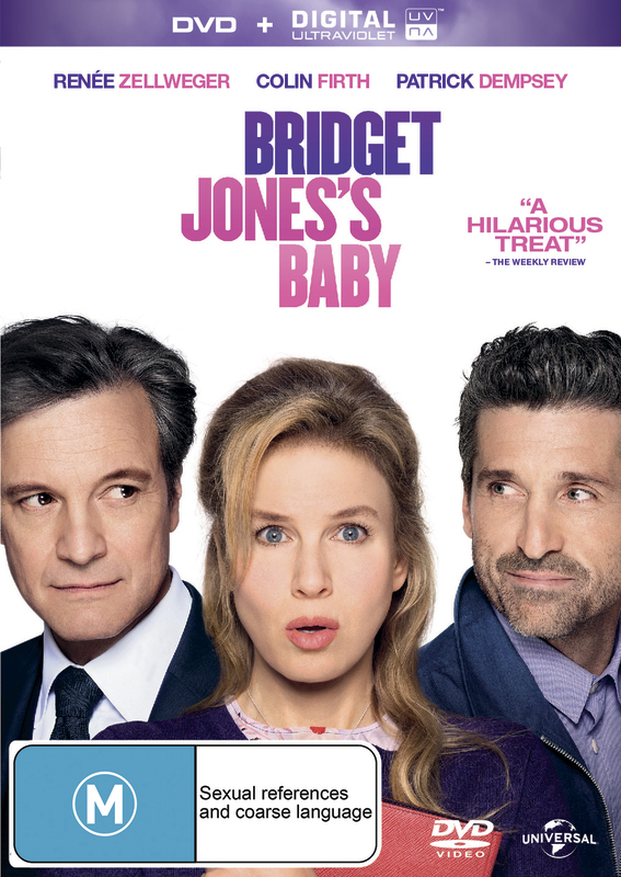 Bridget Jones's Baby on DVD