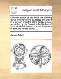 Christian Equity by James Talbot image