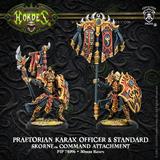 Hordes: Skorne - Praetorian Karax Commander & Standard Command Attachment