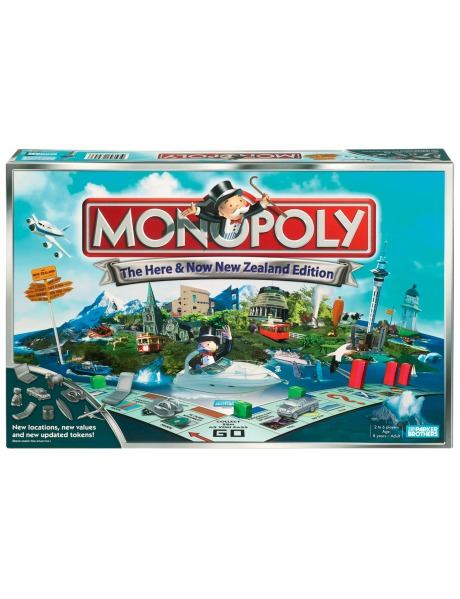 Monopoly: Here and Now - NZ Edition