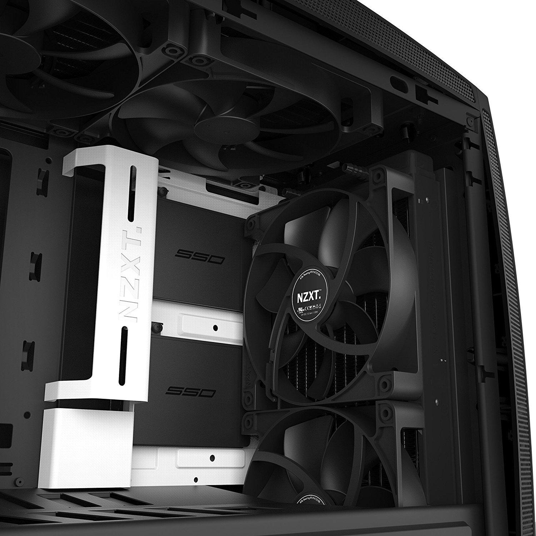 NZXT Manta Mini-ITX Case - White/Black image