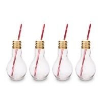Mixology: Edison Light Bulb Glass (Set of 4)