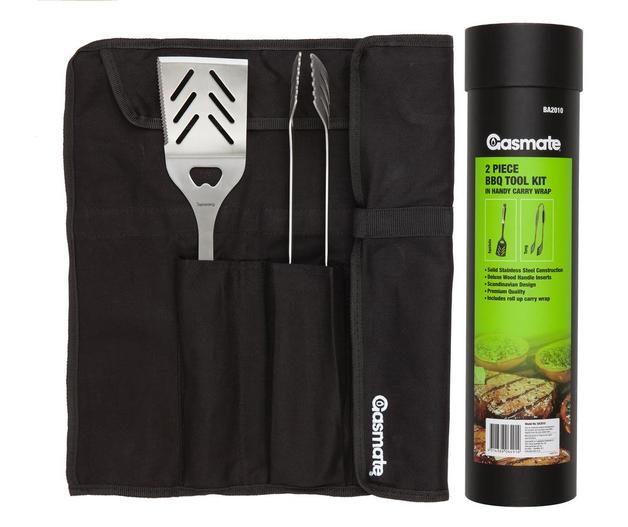 Gasmate: 2 Piece BBQ Tool Kit