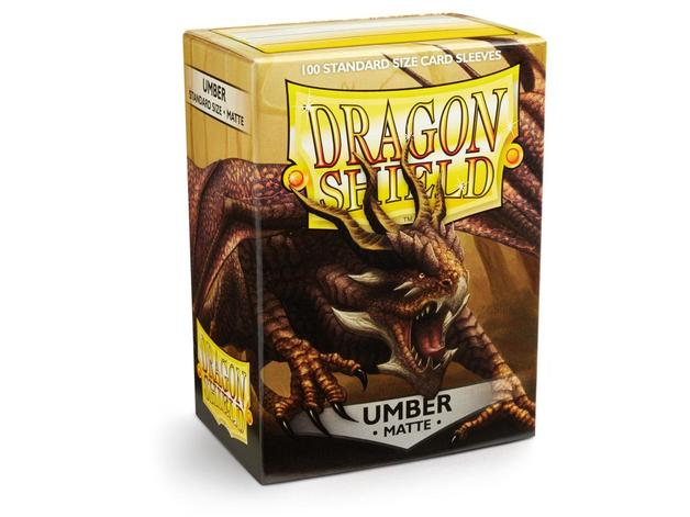 Dragon Shield Matte Umber Sleeves