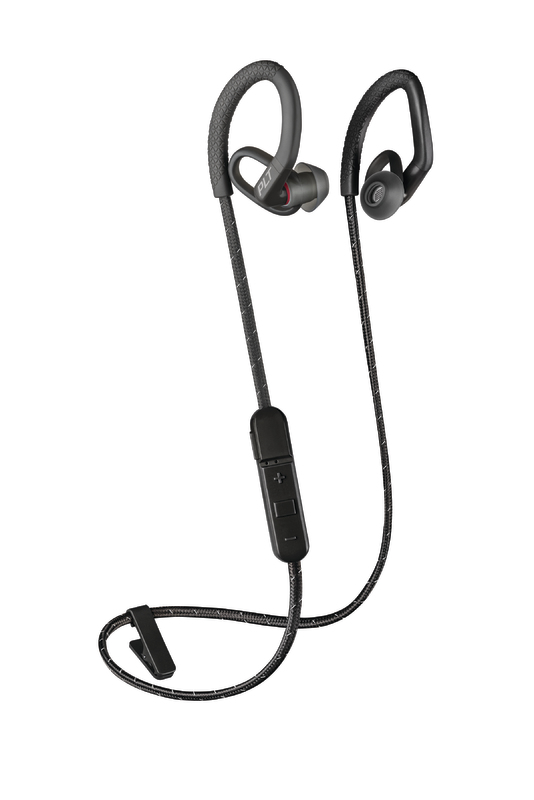 Plantronics: BackBeat Fit 350 Wireless Sports Earbuds - Black