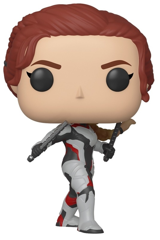 Avengers: Endgame - Black Widow (Team Suit) Pop! Vinyl Figure