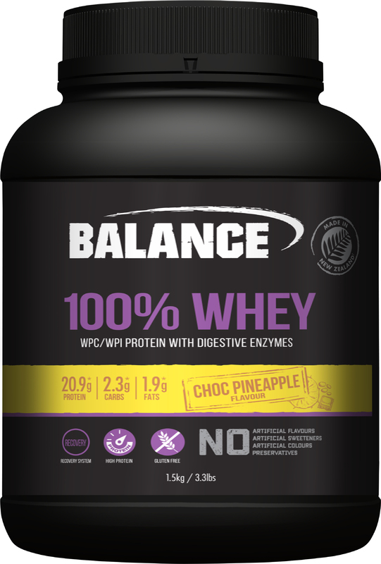 Balance 100% Whey - Choc Pineapple (1.5kg)