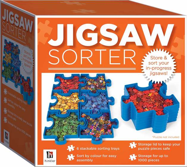 Hinkler: Jigsaw Sorter - Storage Trays