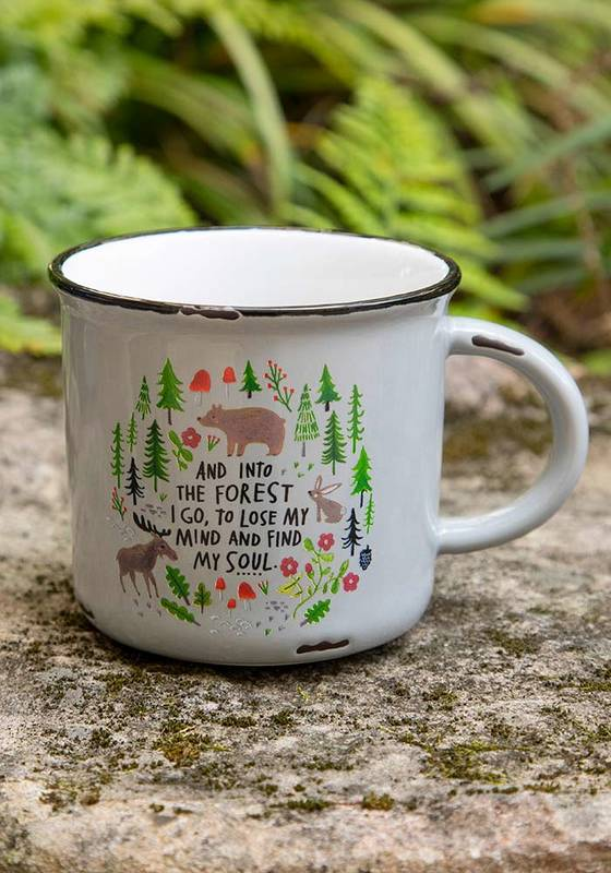 Natural Life: Camp Mug - Into The Forest