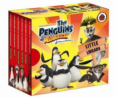 Penguins of Madagascar: Little Library by Ladybird