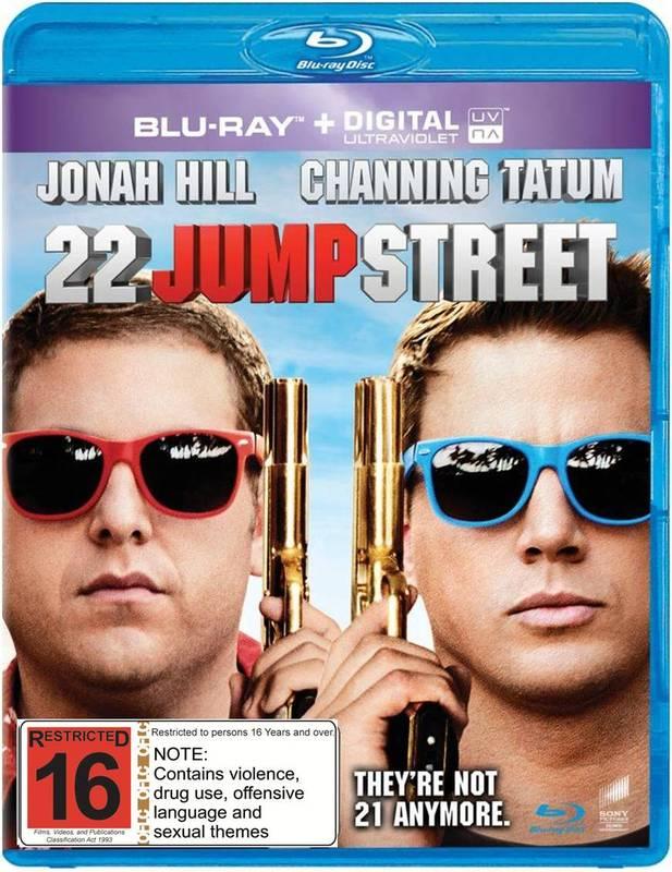 22 Jump Street on Blu-ray