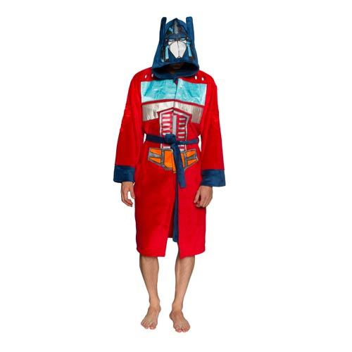 Transformers Hooded Dressing Gown - Optimus Prime Image at Mighty Ape NZ