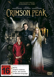 Crimson Peak on DVD