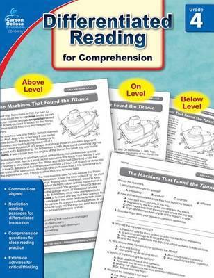 Common Core Differentiated Reading Comprehension, Grade 4