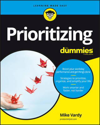 Prioritizing For Dummies by Consumer Dummies image