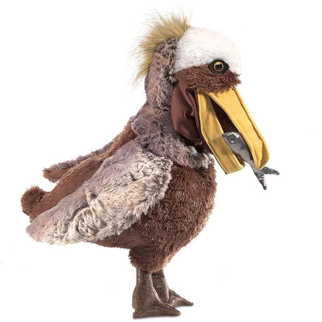 Folkmanis Hand Puppet - Pelican