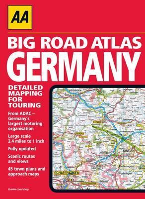 AA Big Road Atlas Germany