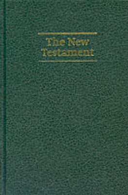 NIV Giant Print New Testament Dark green imitation leather NIVNT480: New International Version Giant Print Edition