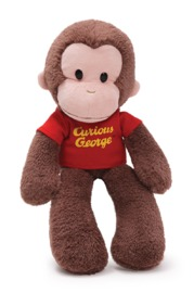 Gund: Curious George - Take Along Plush