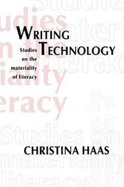 Writing Technology by Christina Haas