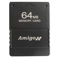 Assecure 64MB Memory Card Black for PS2 for PlayStation 2