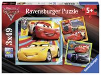 Ravensburger: 3x49 Piece Puzzle Set - Cars 3