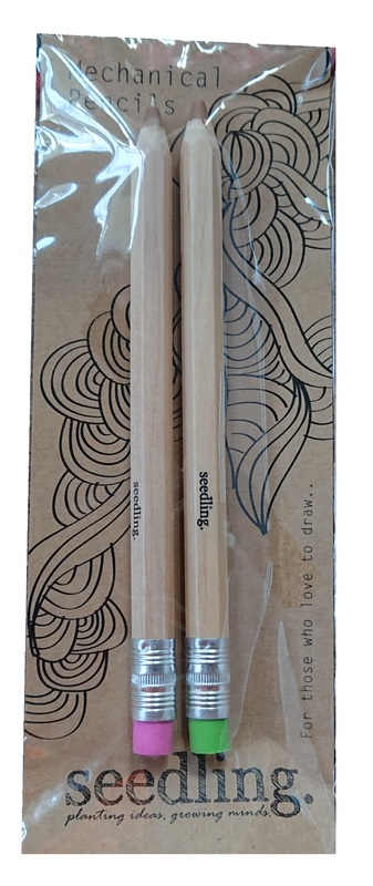 Seedling: Mechanical Pencil - 2-Pack (Assorted Designs)