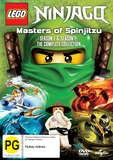 Ninjago Masters Of Spinjitzu: Series 1 & 2 DVD