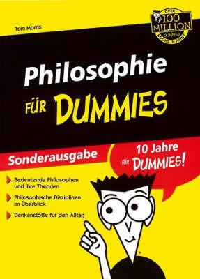 Philosophie Fur Dummies by T. Morris