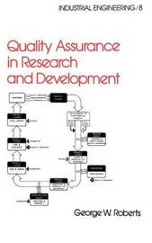 Quality Assurance in Research and Development by . Roberts image